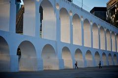 Arcos de lapa Fotografia Stock Libera da Diritti
