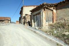 Arcos de las Salinas Teruel Ισπανία Στοκ Φωτογραφία