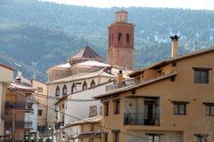 Arcos de las Salinas Teruel Spain Stock Image