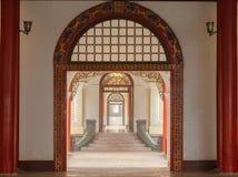 Arcos de madeira cinzelados Imagem de Stock