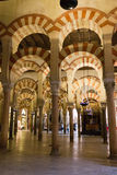 Arcos de Moorish Imagens de Stock