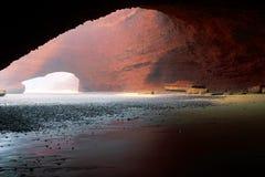 Arcos de pedra de Legzira Foto de Stock Royalty Free