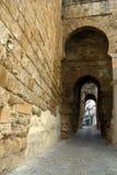 Arcos de pedra em Carmona, Spain Fotos de Stock Royalty Free