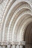 Arcos de pedra ornamentado imagem de stock