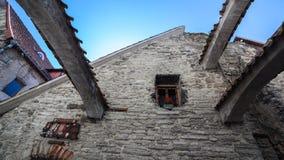Arcos de piedra en el carril de Catalina Imagen de archivo libre de regalías