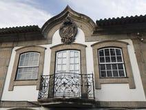 Arcos de Valdevez Balcony y Windows foto de archivo libre de regalías