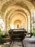 Arcos de Xcaret Fotos de archivo