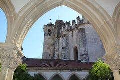 Arcos del claustro Fotos de archivo