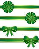 Arcos del verde Imagen de archivo libre de regalías