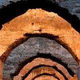 Arcos detalladamente Fotografía de archivo