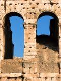 Arcos do coliseu Imagens de Stock Royalty Free