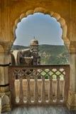 Arcos do forte de Jaigarh foto de stock