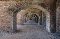 Arcos do tijolo Fotos de Stock