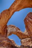 Arcos dobles Imagenes de archivo