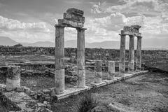 Arcos em Pamukkale Fotografia de Stock Royalty Free