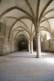 Arcos en cisterna medieval Foto de archivo libre de regalías