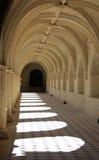 Arcos en la abadía de Fontevraud Fotografía de archivo libre de regalías