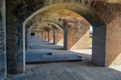 Arcos, forte Jefferson no parque nacional seco de Tortugas Fotografia de Stock