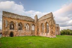 Arcos góticos de la abadía de Egglestone Fotografía de archivo libre de regalías