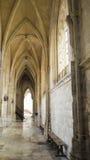 Arcos góticos e escadas Fotografia de Stock Royalty Free