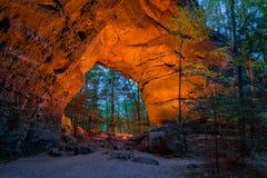 Arcos gemelos, South Fork grande, Tennessee Fotos de archivo