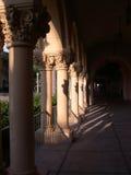 Arcos hermosos de la misión Foto de archivo