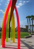 Arcos imperiales de la playa Fotos de archivo libres de regalías