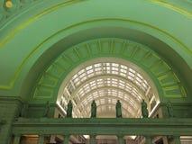 Arcos na estação da união imagens de stock