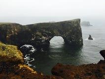 Arcos naturais de Dyrholaey foto de stock