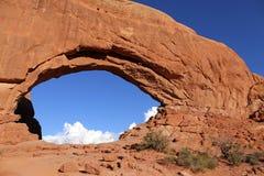 Arcos nortes NP da janela im Foto de Stock