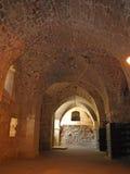 Arcos nos cavaleiros Salão Foto de Stock
