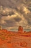 Arcos parque nacional, Utá, EUA Fotos de Stock Royalty Free