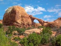Arcos parque nacional, Utá, U S A fotos de stock royalty free