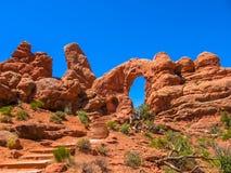 Arcos parque nacional, Utá Fotografia de Stock Royalty Free