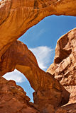 Arcos parque nacional, Utah Fotos de archivo