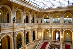 Arcos pintados del Museo Nacional Foto de archivo libre de regalías