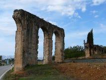 Arcos romanos Imagen de archivo libre de regalías