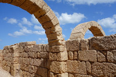 Arcos romanos Fotografia de Stock