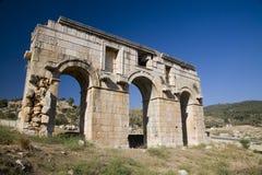 Arcos romanos en Patara, Turquía Foto de archivo