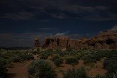 Arcos tardios Foto de Stock Royalty Free