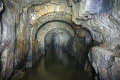 Arcos velhos da mina Fotos de Stock Royalty Free