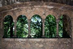 Arcos y columnas Imagenes de archivo