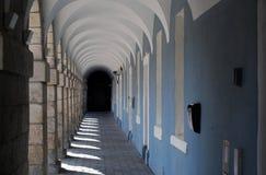 Arcos y columnas talladas Imagen de archivo