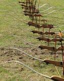 Arcos y flechas Foto de archivo libre de regalías
