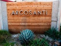 Arcosanti Στοκ Εικόνες