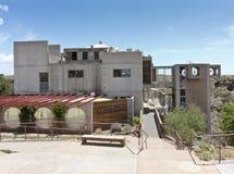 Arcosanti ett experiment i stads- arkitektur Fotografering för Bildbyråer