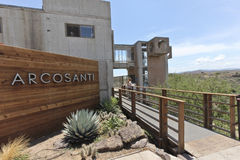 Arcosanti, an Experiment in Urban Architecture Royalty Free Stock Image
