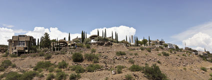 Arcosanti, an Experiment in Urban Architecture Royalty Free Stock Images
