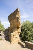 Arcosoli Bizantini, Agrigento, Sicily - Obraz Stock