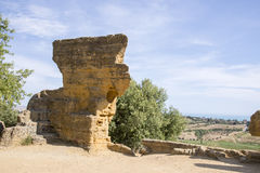 Arcosoli Bizantini, Agrigento, Sicily - Zdjęcie Royalty Free